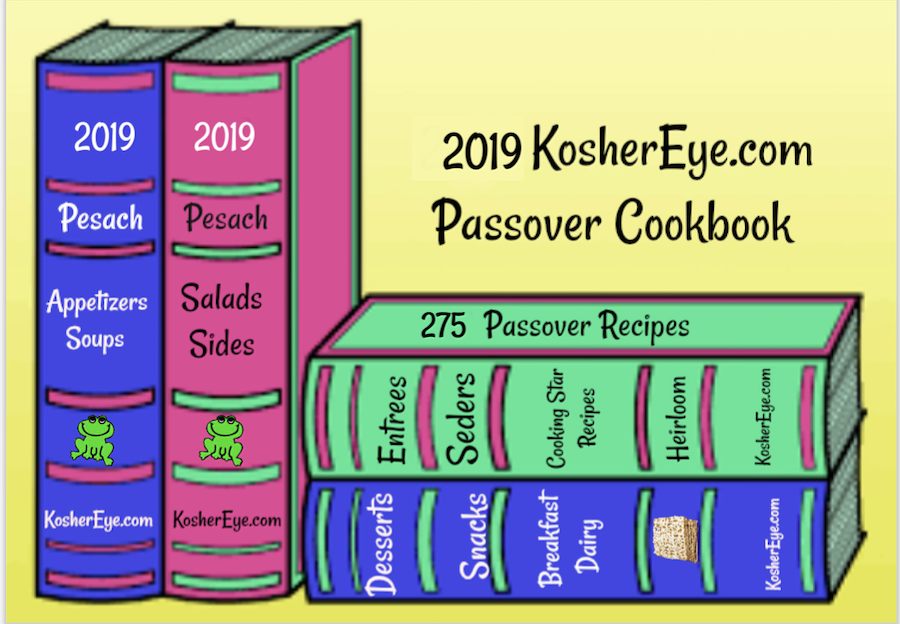 2019 Passover sized graphic for Facebook