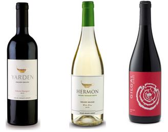 3 Golan Heights wines