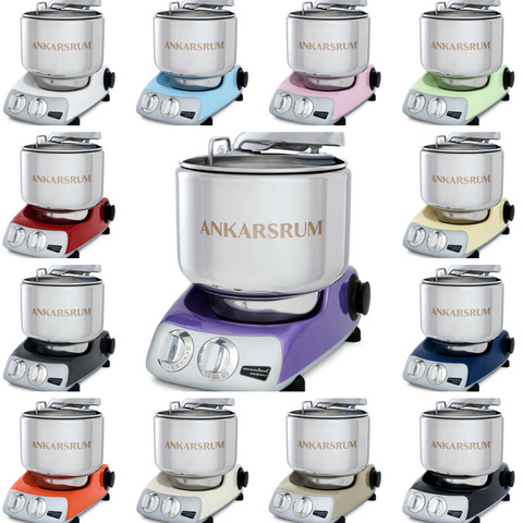 Ankarsrum rainbow of mixers