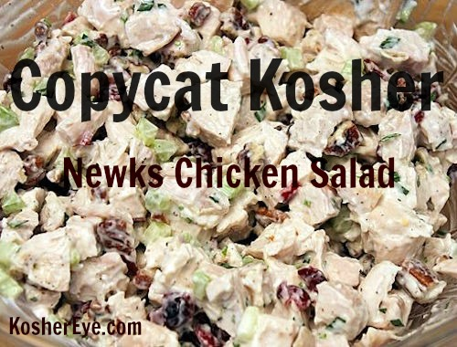 Copycat Newks chicken salad texted