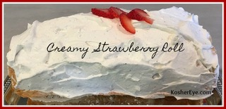 Creamy dreamy texted strawberry roll 2
