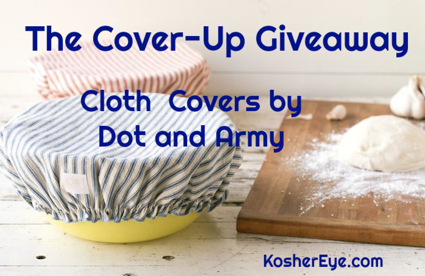 Dot and Army giveaway texted