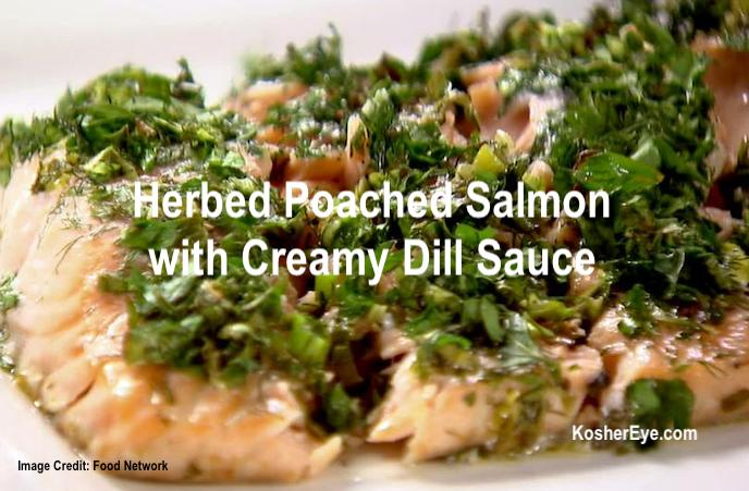 Herbed Poached Salmon