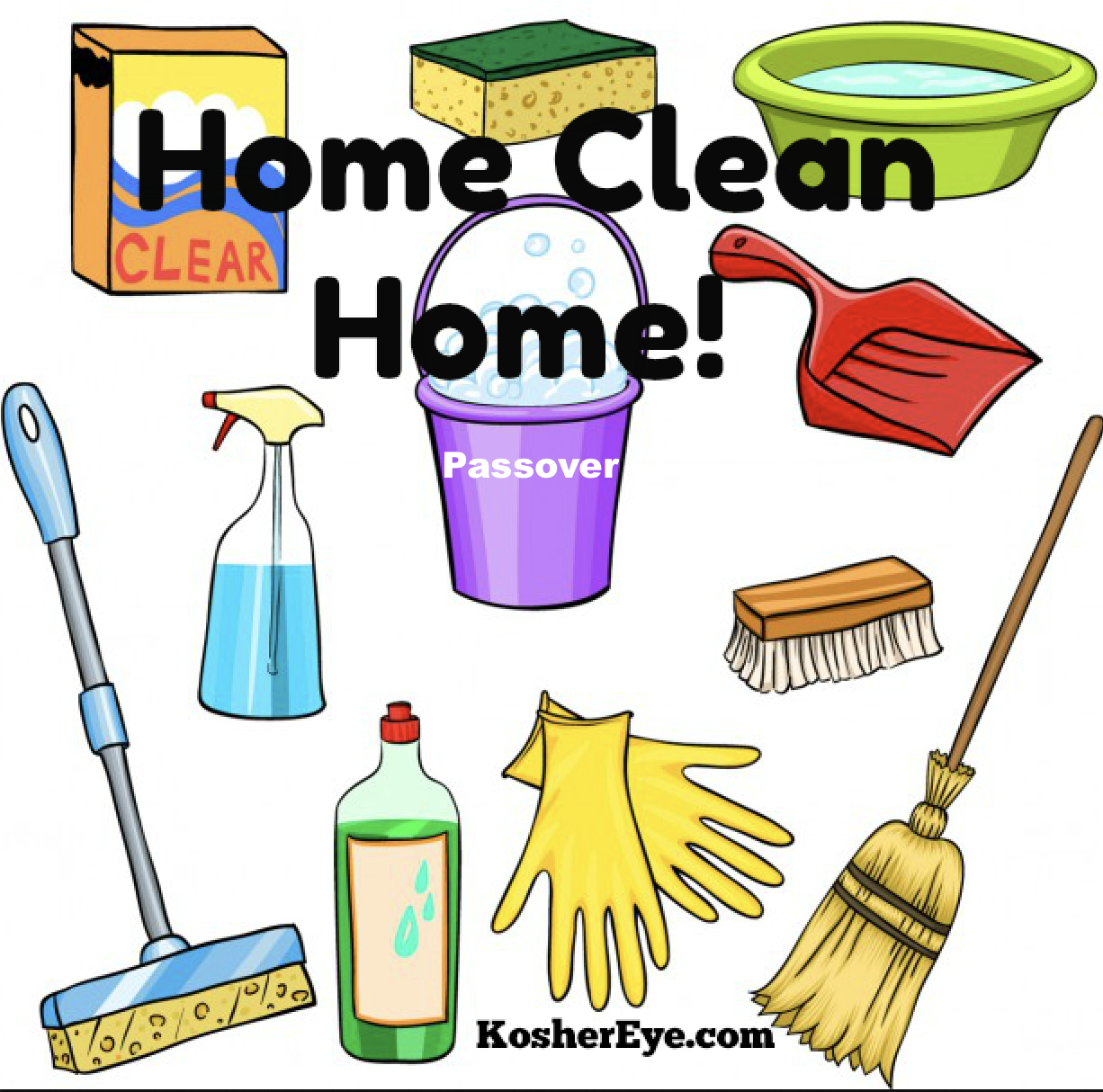 Home clean home clipart copy