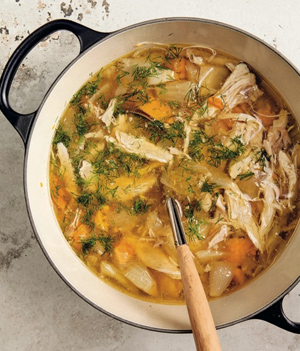 Kushner one pot chicken soup 300w