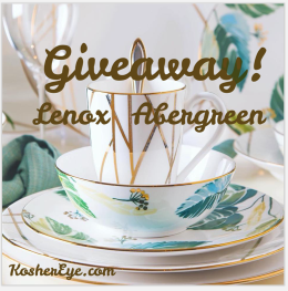 Lenox Abergreen texted giveaway Custom