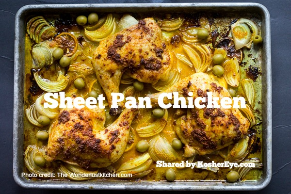 Moroccan texted 2 Sheet Pan Chicken 4