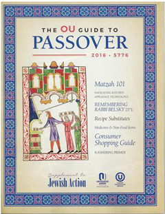 OU Passover guide 240W