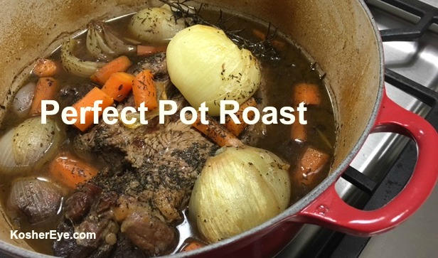 Perfect pot roast texted