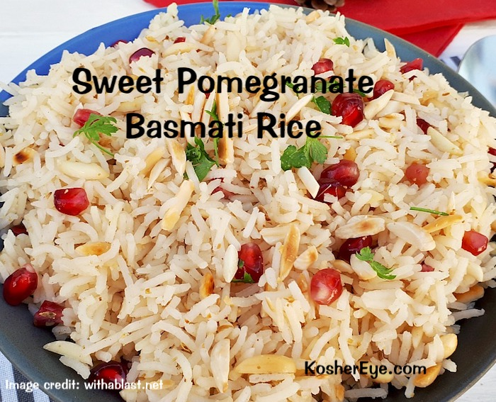 Pomegranate Almond Rice texted F