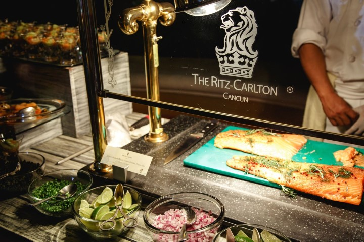 Ritz buffet with logo Small