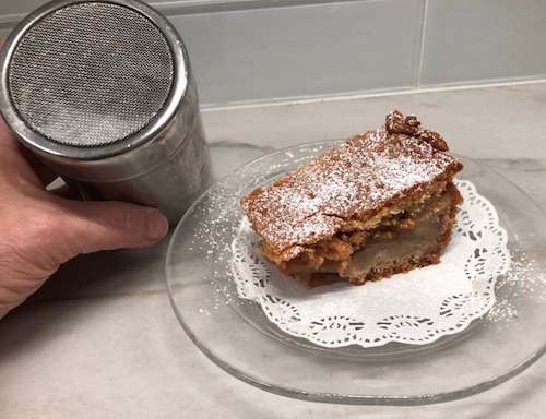 Shaker and Apple Strudel