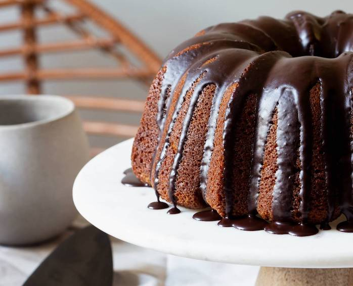 SimplyGourmet Lotus Ribbon Bundt Cake