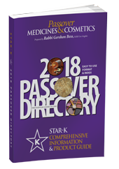 Star K passover book 2018