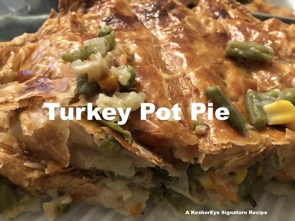 Turkey pot pie leftovers