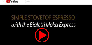 Video how to use the Bialetti Moka Espresso Maker play