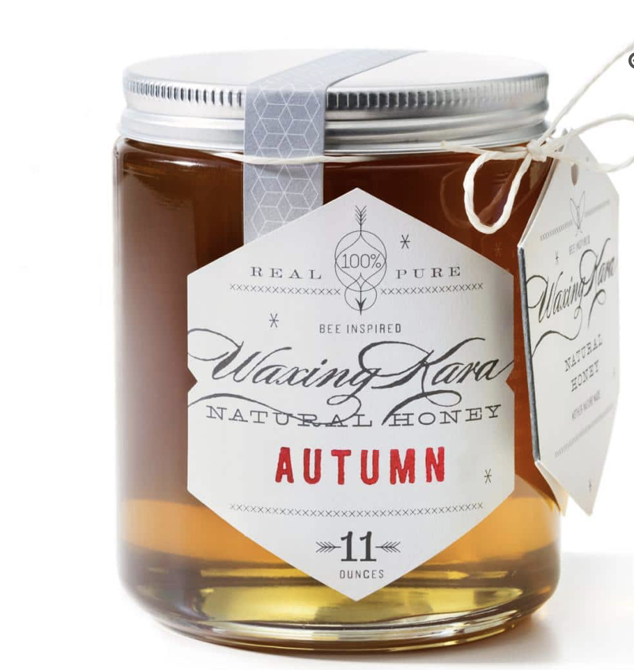 Waxing honey autumn