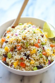 Whole Foods Copycat California Quinoa Salad 2.