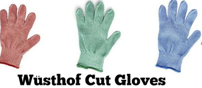 Wustof cut glove texted image