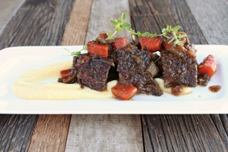 Yiddish Kitchen Balsamic Short ribs