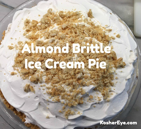 almond brittle pie