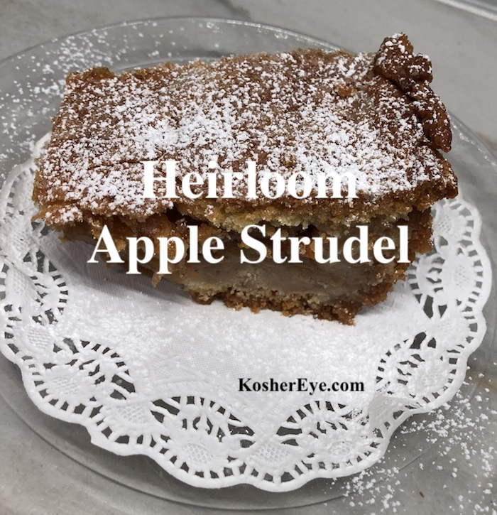 apple strudel texted
