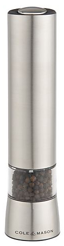 hampstead electric pepper mill with light 486w