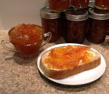Our bounty – homemade Sour Orange & Lemon Marmalade