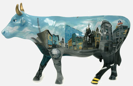 painted cow12cr
