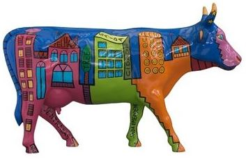 painted cow14cr