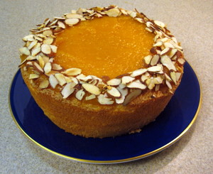 passover apricot almond cake 1