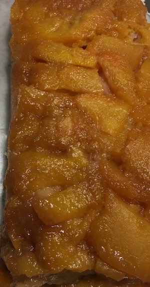 upside down peach cake 1